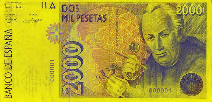 Billete de 2000 pesetas