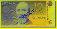 Billet de 10 couronnes - recto