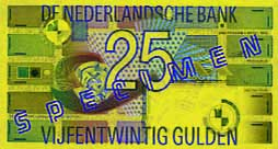 Billete de 25 florines