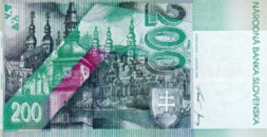 200 Slovak koruna banknote backside