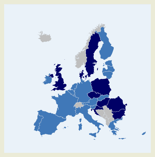 Interactive map of euro area