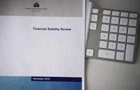 Cover of the Financial Stability Review