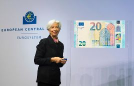 New signature for euro banknotes - 28 November 2019