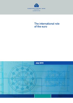 The international role of the euro, July 2015 - cover image