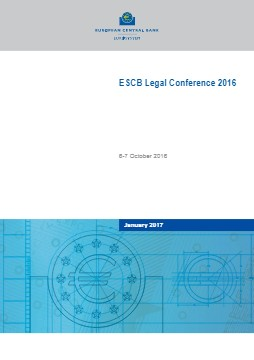 ESCB Legal Conference 2016 - cover image