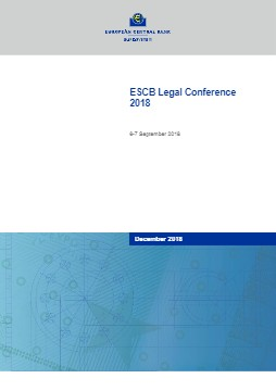 ESCB Legal Conference 2018 - cover image