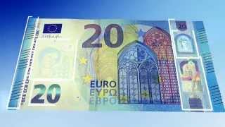 Discover the new 20 euro banknote