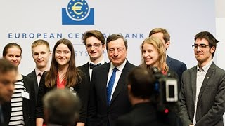 Young Innovators share their views at the ECB