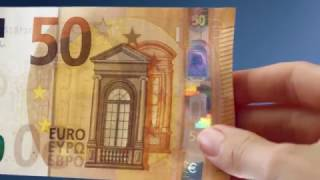 The new €50 banknote