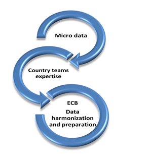 Micro data - Country teams expertise - ECB Data harmonization and preparation