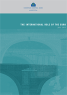 Cover of the book: The international role of the euro
