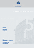 Cover of the book: The ECB - history, role and functions