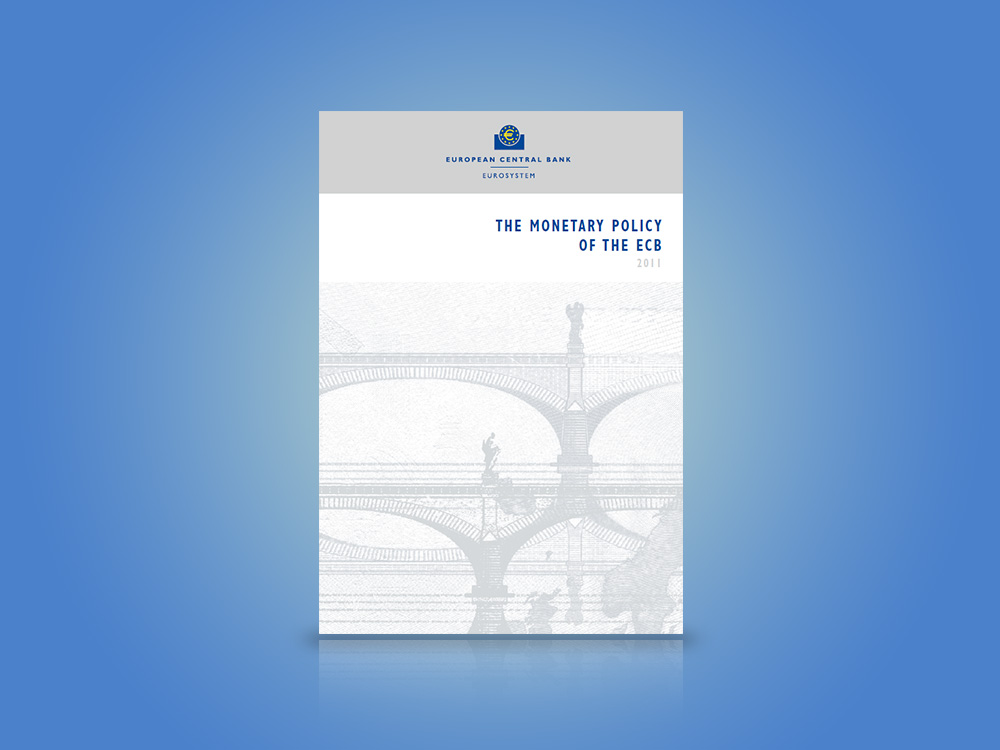 Cover of the book: The monetary policy of the ECB