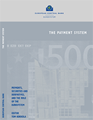 Cover of the book: The payment system: payments, securities and derivatives, and the role of the Eurosystem